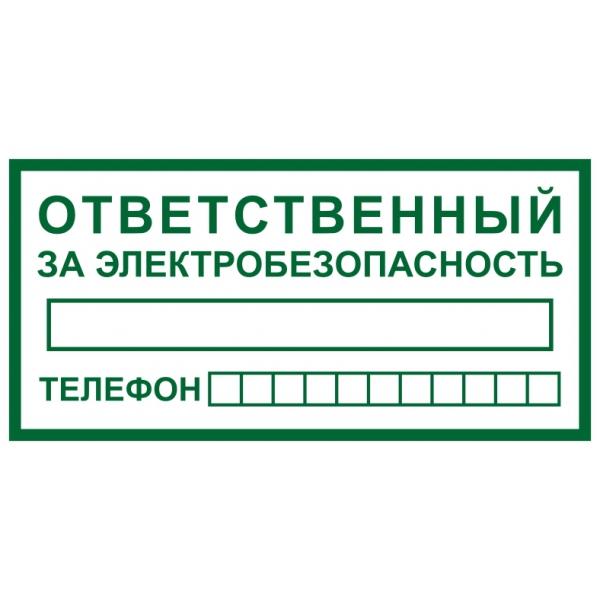 инструкция ответственного за электробезопасность